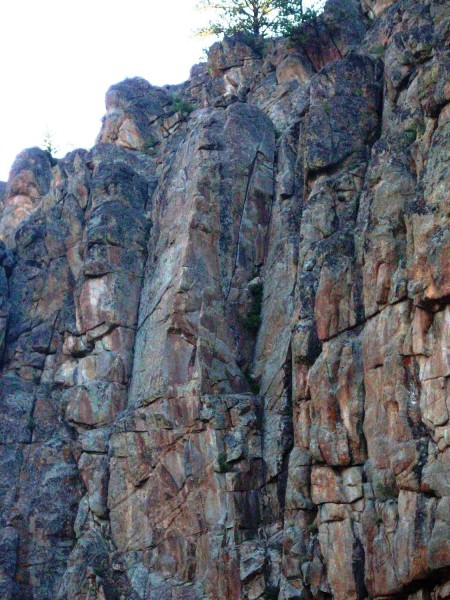 Dunn's dihedral 5.8 Taylor Canyon, Gunnison - Courtesy Katy H and MP.c...