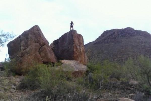 My boulder at Gatespass