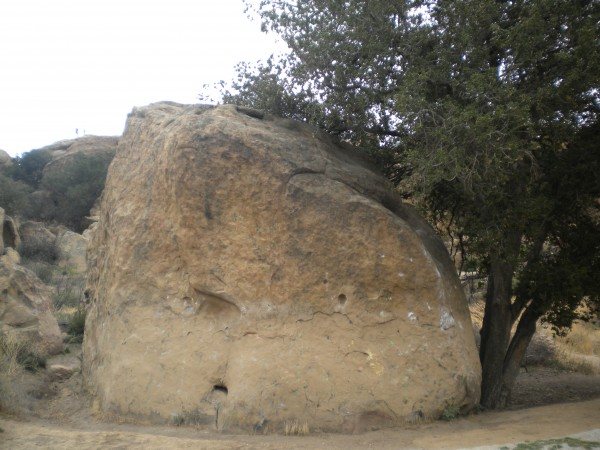 Carousel Rock on the north side of SP offers some fantastic bouldering...