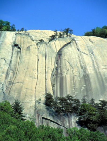 The Great Arch, Stone Mountain, NC  ca 1990.