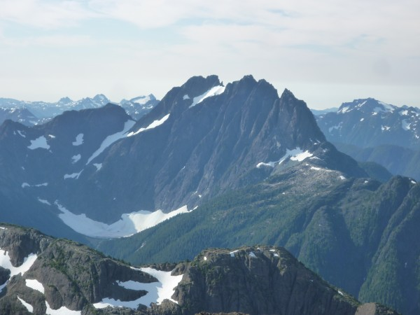 The 1000m East Face of Mt. Colonel Foster, the crown jewel of Island c...