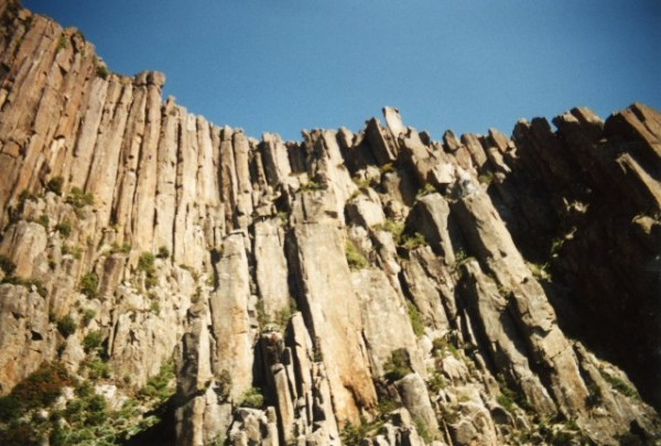 Organ Pipes, Mt. Wellington, Hobart Tasmania