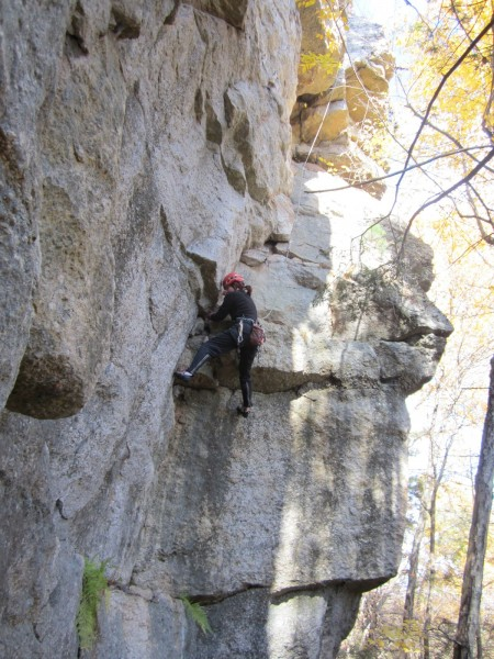 Art's Route (5.9), The Trapps, Gunks