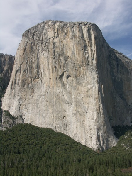 West Face of El Capitan from Lower Cathedral