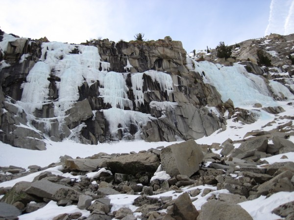 Main Wall and Chouinard Falls (3/15/13).