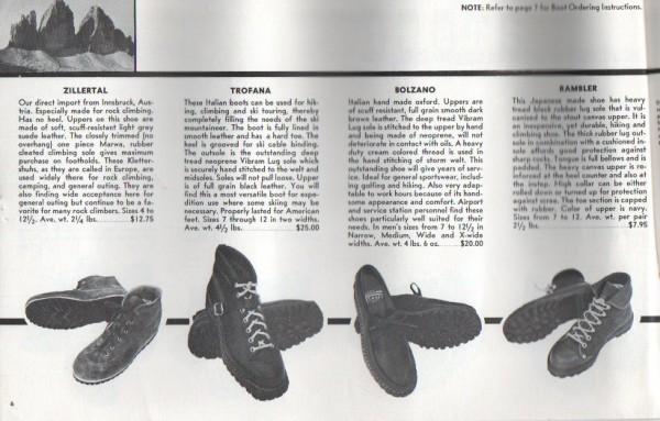 1959 Ski Hut Catalog