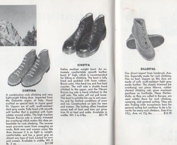 1960 Ski Hut Catalog