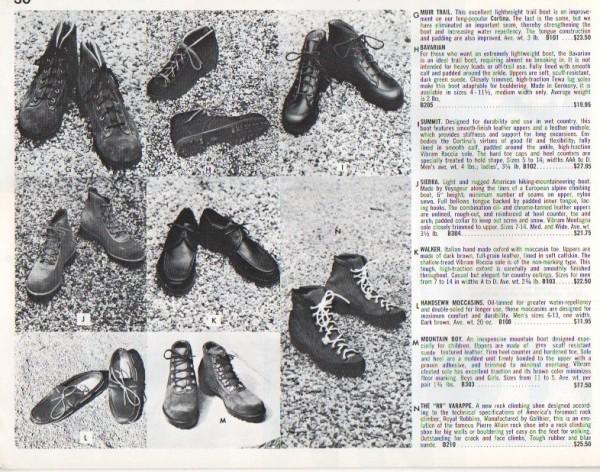 Ski Hut Catalog 1968/69