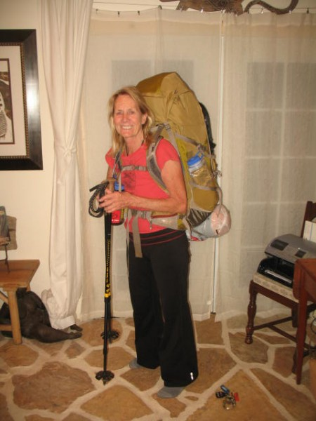 Packed and ready to leave early a.m. for San Jacinto Peak.