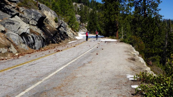 The Glacier Point Road 3/23/13