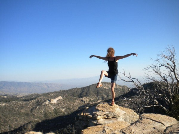 After climbing ...  <br/>