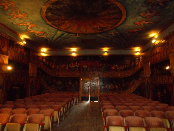 The Amargosa Opera House, opened by a former New York ballet dancer wh...