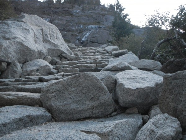 granite steps for ever!