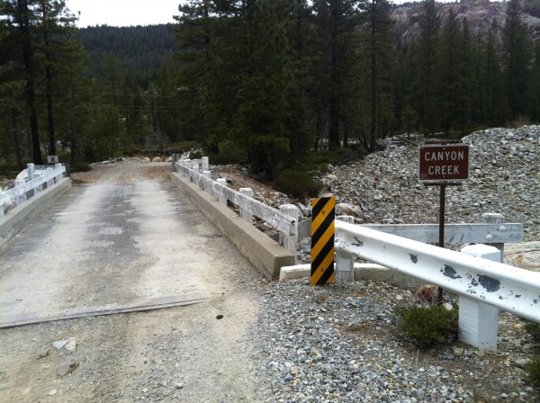 Appox 13.5 miles off Hwy 20 down Bowman Lakes road. Park at Canyon Cre...