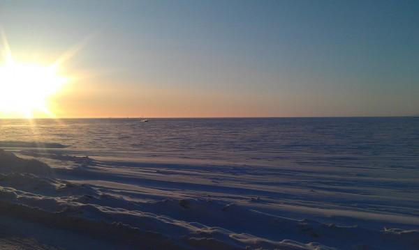 Frozen Ocean...