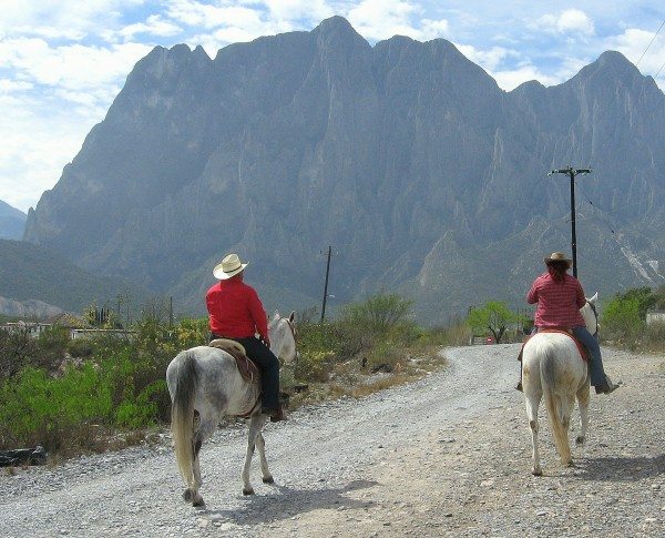El Potrero Chico, Hidalgo, Mexico.  2013.