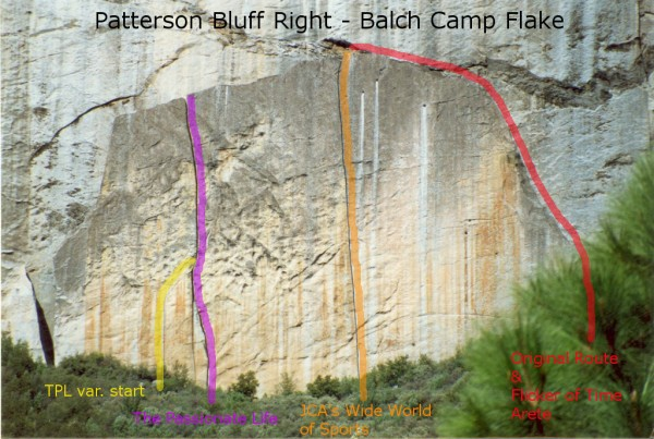 Patterson Bluff Right - Balch Camp Flake <br/>