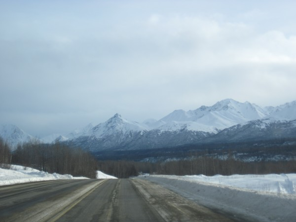 On the drive to Valdez - 2/17/13.