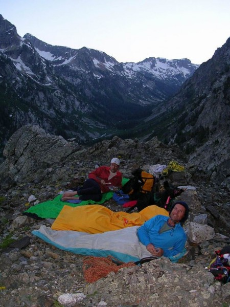 first night's bivy