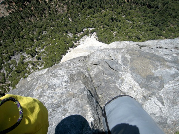 Looking Down from the Gray Bands