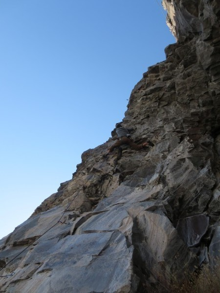 Scotts pic of Silver creek crag. ebbetts pass
