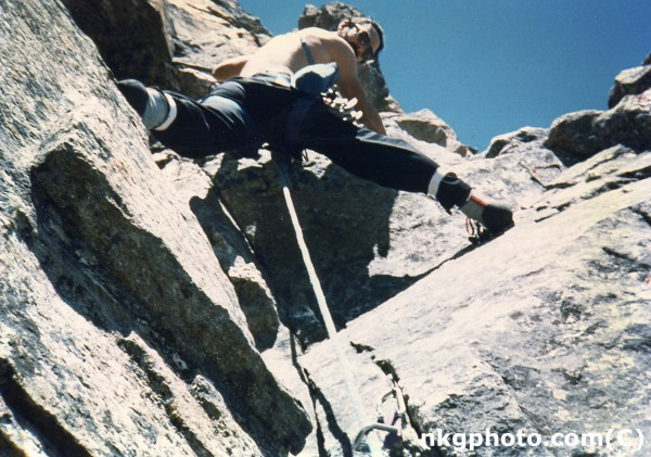 Tetons 1987 photo by Martha Allen. First time for the vermonter takein...