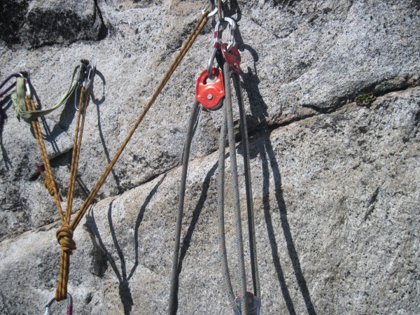 my 3:1, i had to use it on pitch 3 belay!