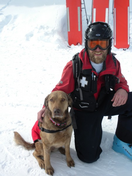 Remi is an avalanche dog that is back to work after surviving cancer.