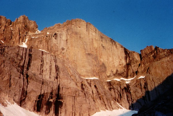 The Diamond, East Face of Long's Peak, RMNP, Colorado