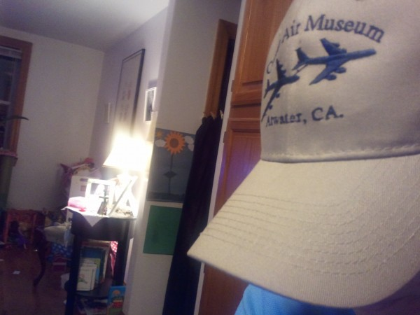 "New favorite hat "")"