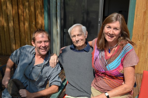 Allen Hill, Layton, Rosemary Alder, Chris Archer's house, August 2012