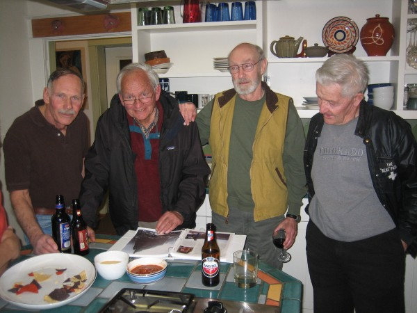John Auld, Dave Rearick, Ray Northcutt, Harvey Carter. 2009. Steve Bar...