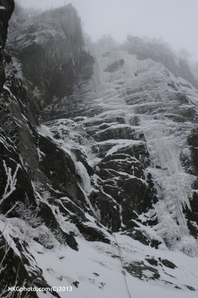 P1 of Ragnarock. Full conditions in the notch! The direct start looks ...