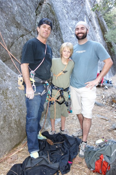 Cory got to climb with my hero, the legendary Ron Kauk.