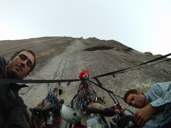 End of day 1, enjoying the view from the top of pitch 3.Awesome first ...