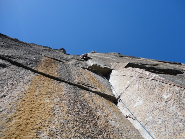 Andy getting up pitch 6!