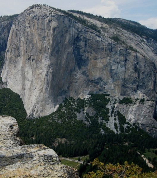 El Cap from Higher Cathedral Spire