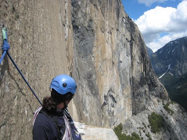 El Cap southeast face from El Cap Tower