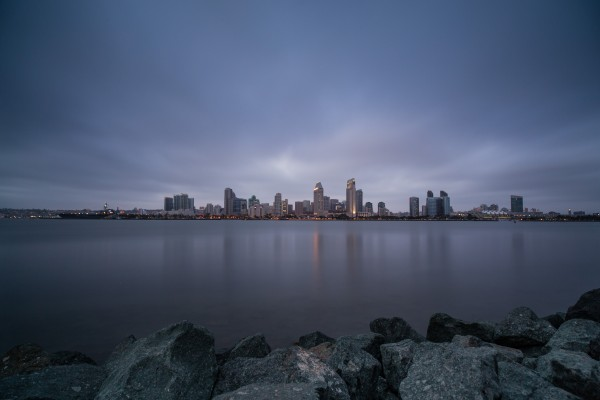 Taken last night, San Diego skyline.
