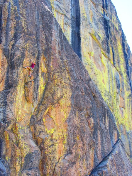 torkmaster on one of the many good 5.11's at high eagle