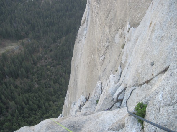 approaching el cap tower