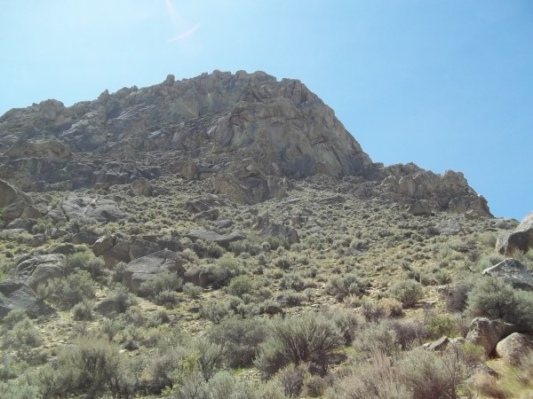 a little closer and the crag,, she grows....This is just the far easte...