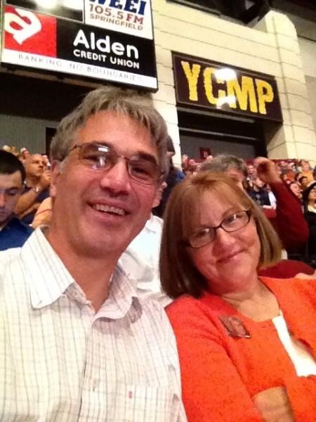 The proud parents, UMass Graduation 2013
