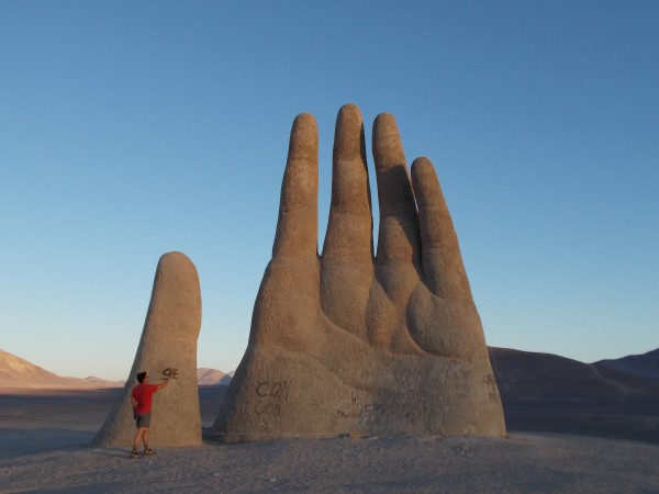 Hand in Northern Chile