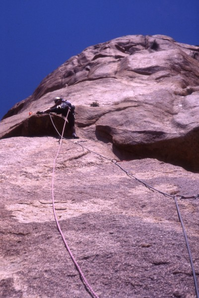 """El Milenio"" (The Millennium) 5.11b, 15 pitches"