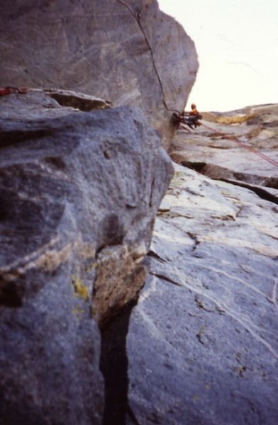 Near the top of pitch 12. July 24, 1984.