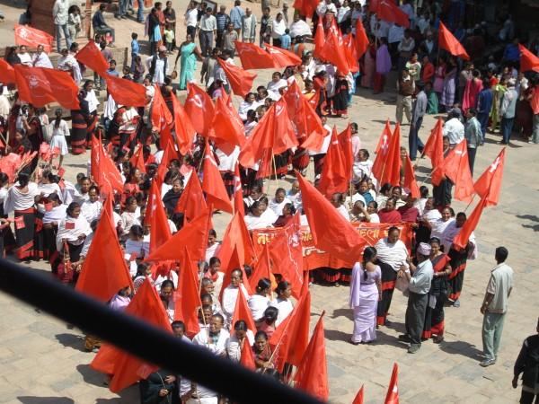 Maoist Demo in K'du