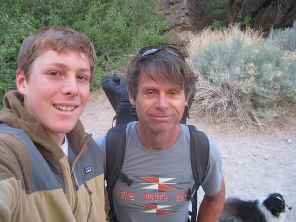 met peter croft at the gorge!