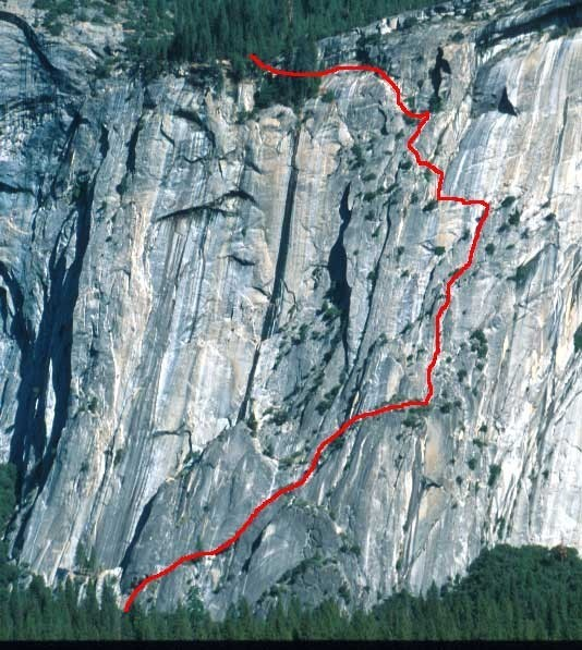 Royal Arches: 16 Pitches, 1400 Vertical Feet