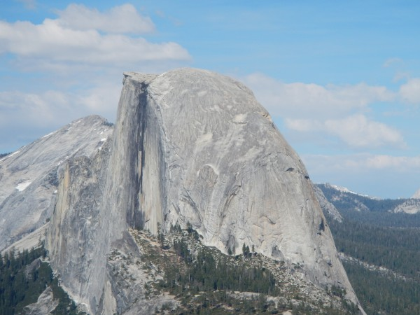 Half Dome (Snake Dike route to mid-right side)